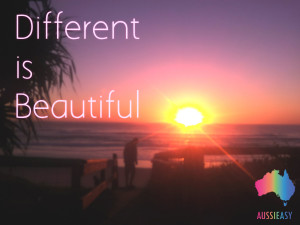 Different is beautiful final